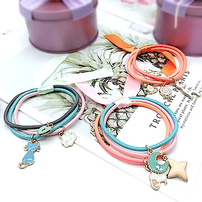 Hera 赫拉 可愛蝴蝶緞帶飾品髮圈(3款)