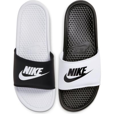 NIKE 拖鞋涼鞋 休閒 運動 男 黑白818736011  BENASSI JDI MISMATCH
