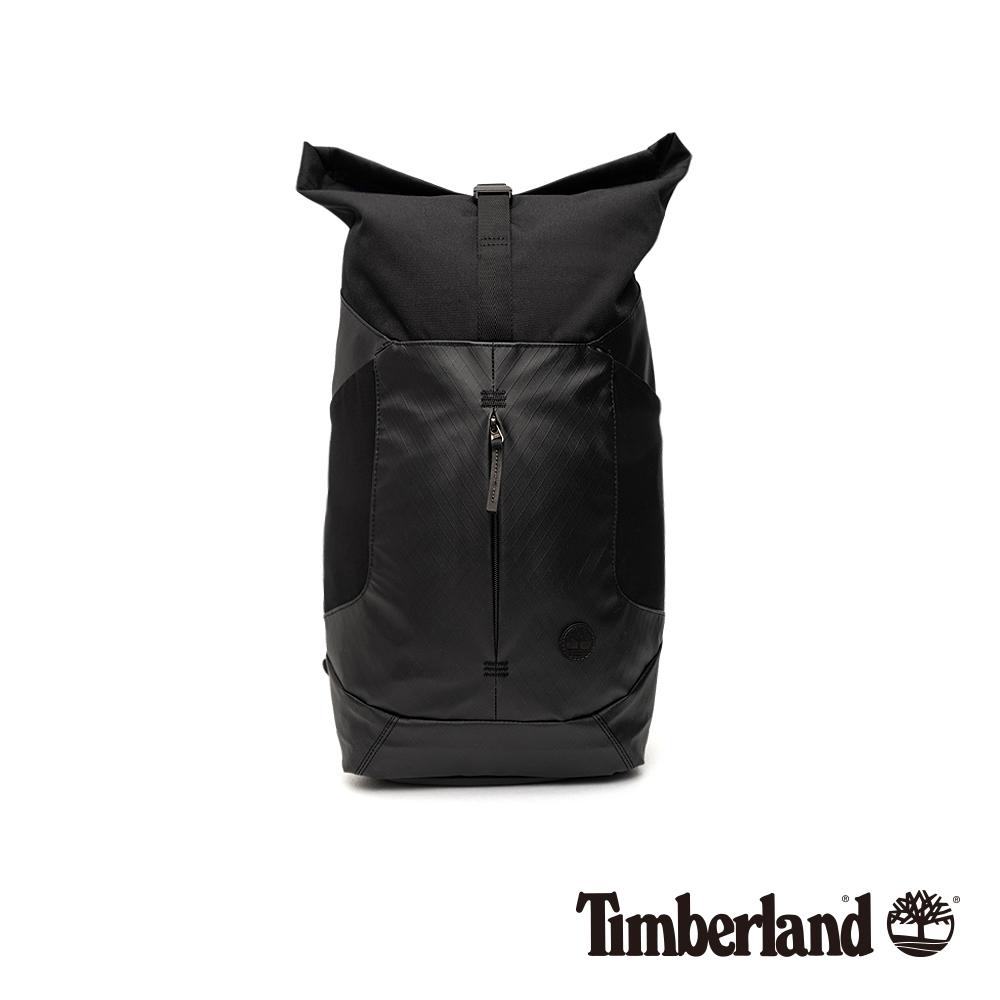 Timberland 中性黑色防潑水磁吸插扣後背包|A1CZ4