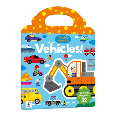 【双美 】First Magnet Book – Vehicles