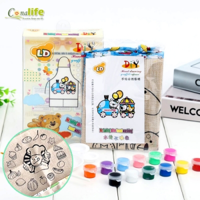 Conalife 兒童創意DIY彩繪圍裙(1盒)