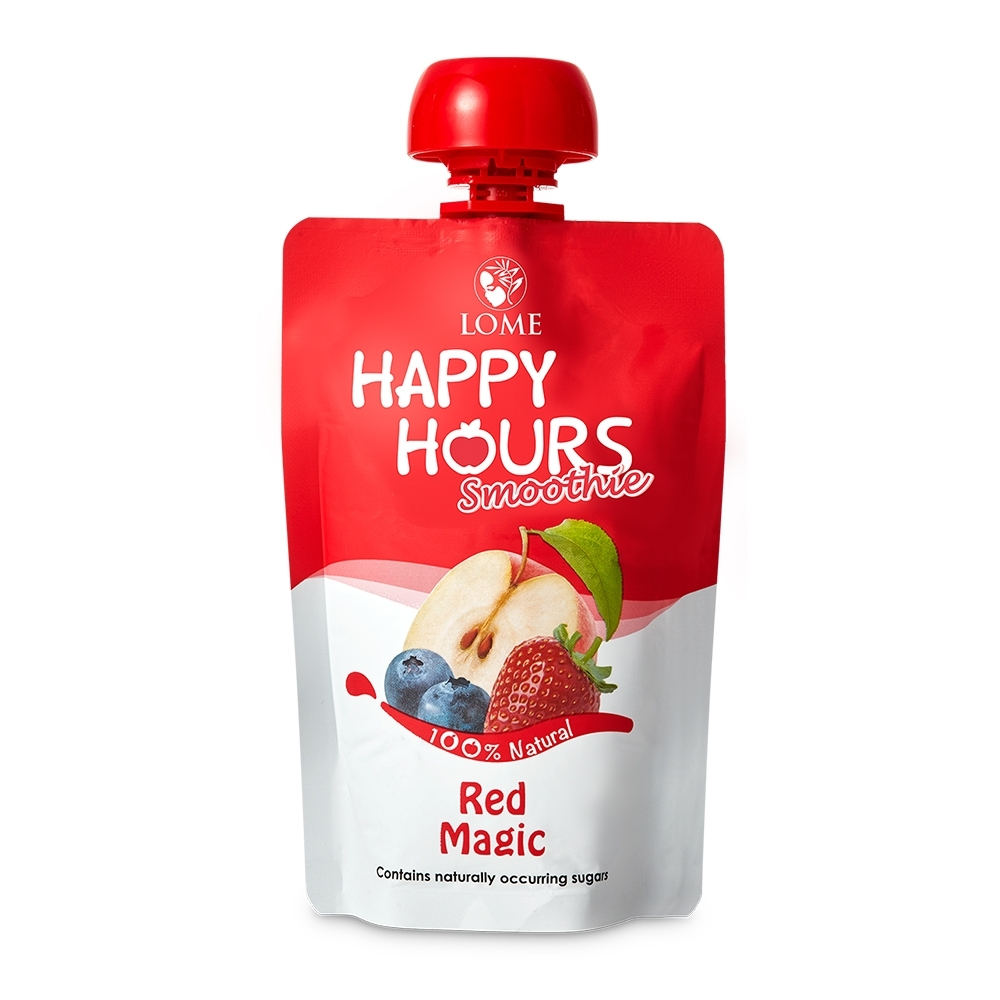 HAPPY HOURS生機纖果飲(蘋果/藍莓/草莓)18包