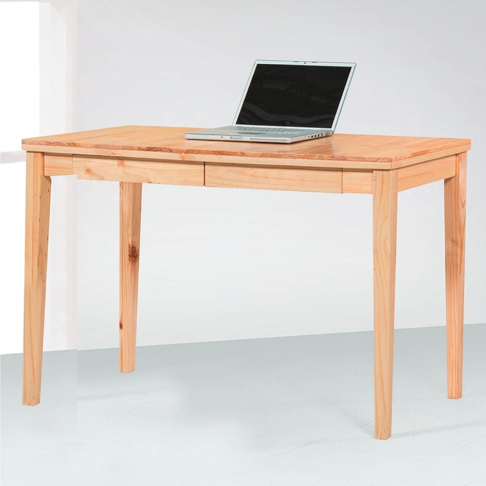 Bernice-原色風格4尺書桌-120×50×76cm