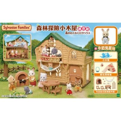 日本森林家族 森林探險小屋禮盒組EP14324 EPOCH原廠公司貨