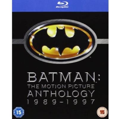 蝙蝠俠 1~4 套裝  藍光 BD