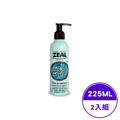 ZEAL-真致 紐西蘭鱈魚油 225ml (ZE-HO-0004)(2入組)