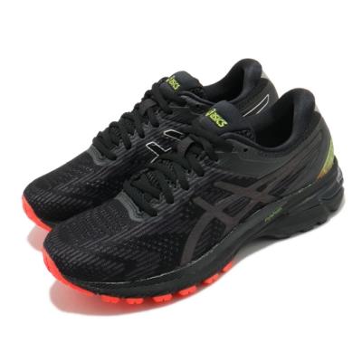 Asics 慢跑鞋 GT 2000 8 Lite-Show 女鞋 亞瑟士 高支撐 避震 膠底 穩定 反光 黑 黃 1012A963001