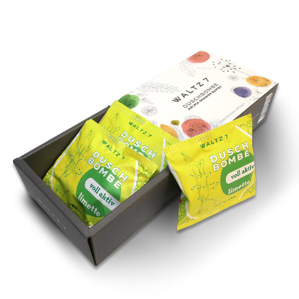 華爾滋7號淋浴SPA香氛錠-冰萃萊姆(3入禮盒組)COACH