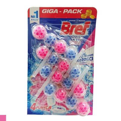 德國 Bref 馬桶芳香 清潔球 (花香風味) 4入組 50g