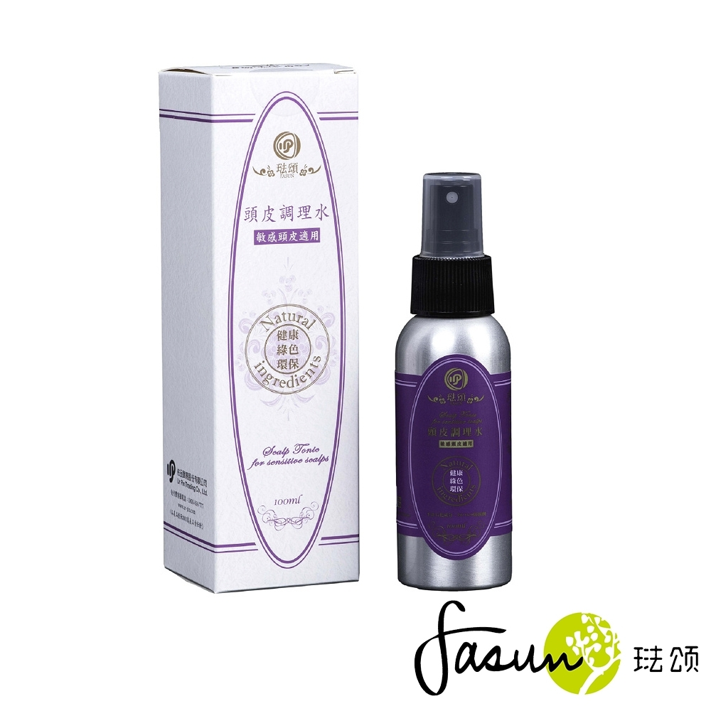FASUN琺頌-頭皮調理水-敏感頭皮適用100ml product image 1