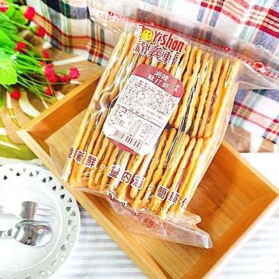 【福義軒】湘辣蘇打餅 3包組(300g/包)