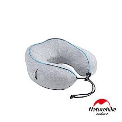 Naturehike 記憶棉智能電動U型按摩護頸枕 灰色