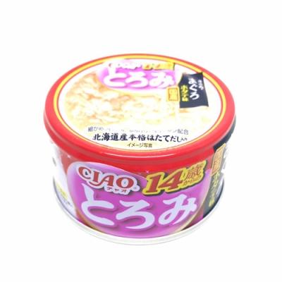 日本 CIAO 多樂米濃湯罐 A-54 14歲 雞肉&鮪魚&干貝 80g