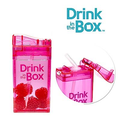 加拿大Drink in the box 兒童戶外方形吸管杯 235ml-糖果粉