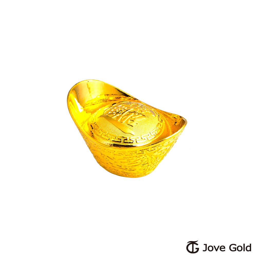 Jove gold 貳台錢黃金元寶x1-招財進寶