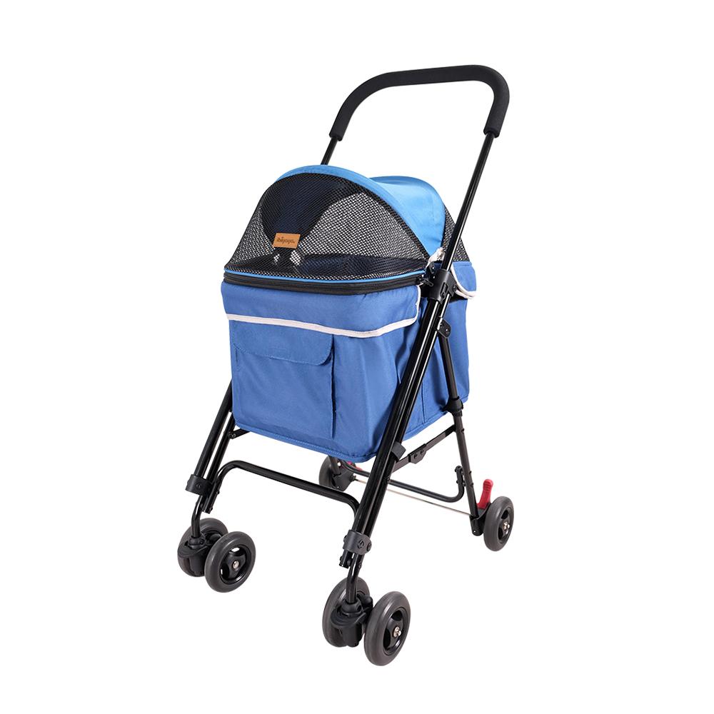 IBIYAYA依比呀呀-FS1732心機寵物小車-天空藍(機車寵物推車)