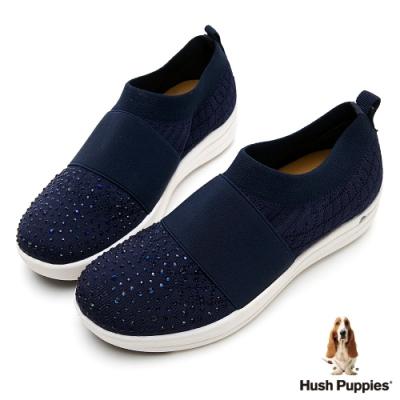 Hush Puppies 亞洲首發高效能彈力健走鞋-藍