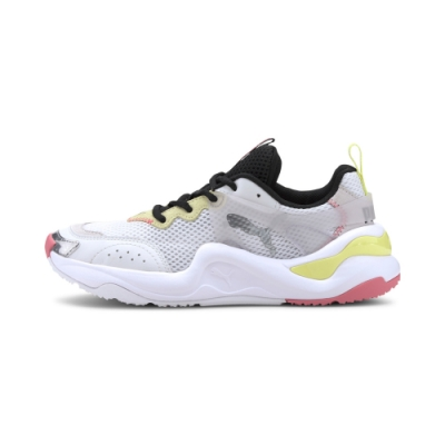 PUMA Rise Contrast Wn's 女休閒鞋-白-37232303