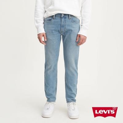 Levis 男款 上寬下窄 502 Taper牛仔褲 復古水藍 恆溫調節機能 彈性布料