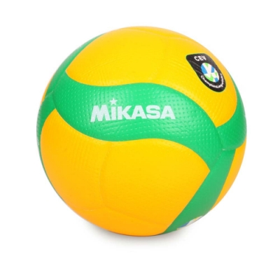 MIKASA 歐冠專用比賽用排球#5 黃綠