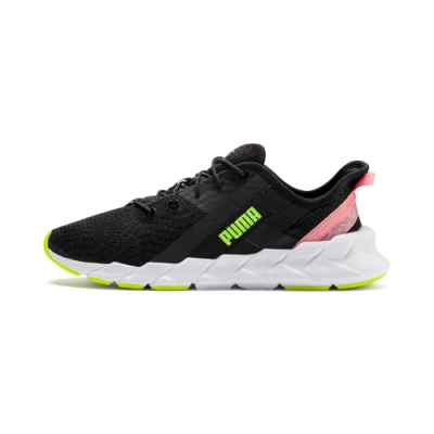 PUMA-Weave XT Shift Wn s 女性有氧運動鞋-黑色