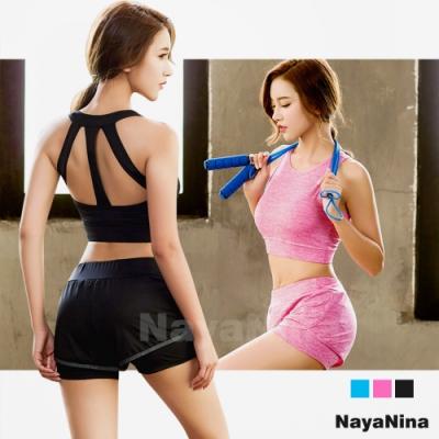 極簡有型美背涼感透氣運動背心無鋼圈內衣M-XL/三色選 Naya Nina