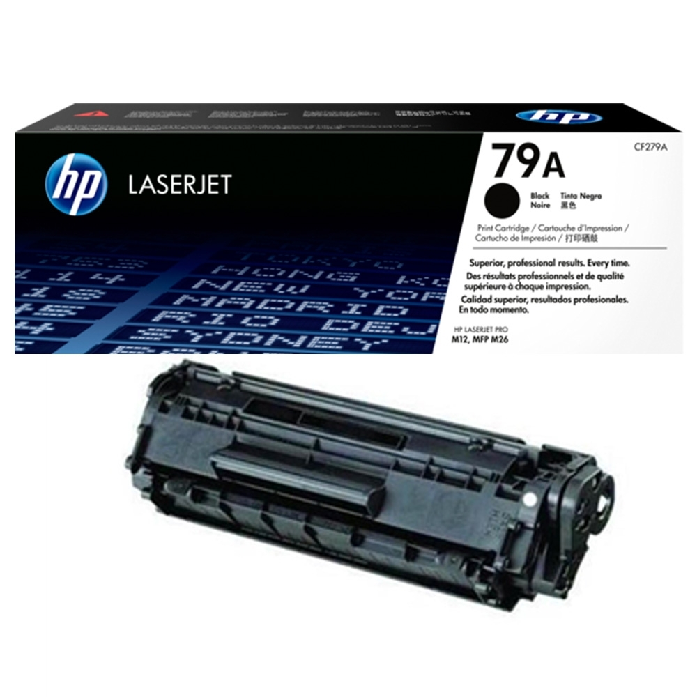 HP CF279A/279/79A 原廠黑色碳粉匣 適用HP M12a/M12w/M26a/M26nw