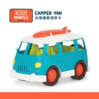 美國【B.Toys】Wonder Wheels系列-去海邊衝浪胖卡