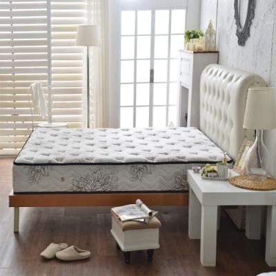 雙人加大6尺-飯店用超涼感抗菌-護腰型蜂巢獨立筒床墊-Ally愛麗