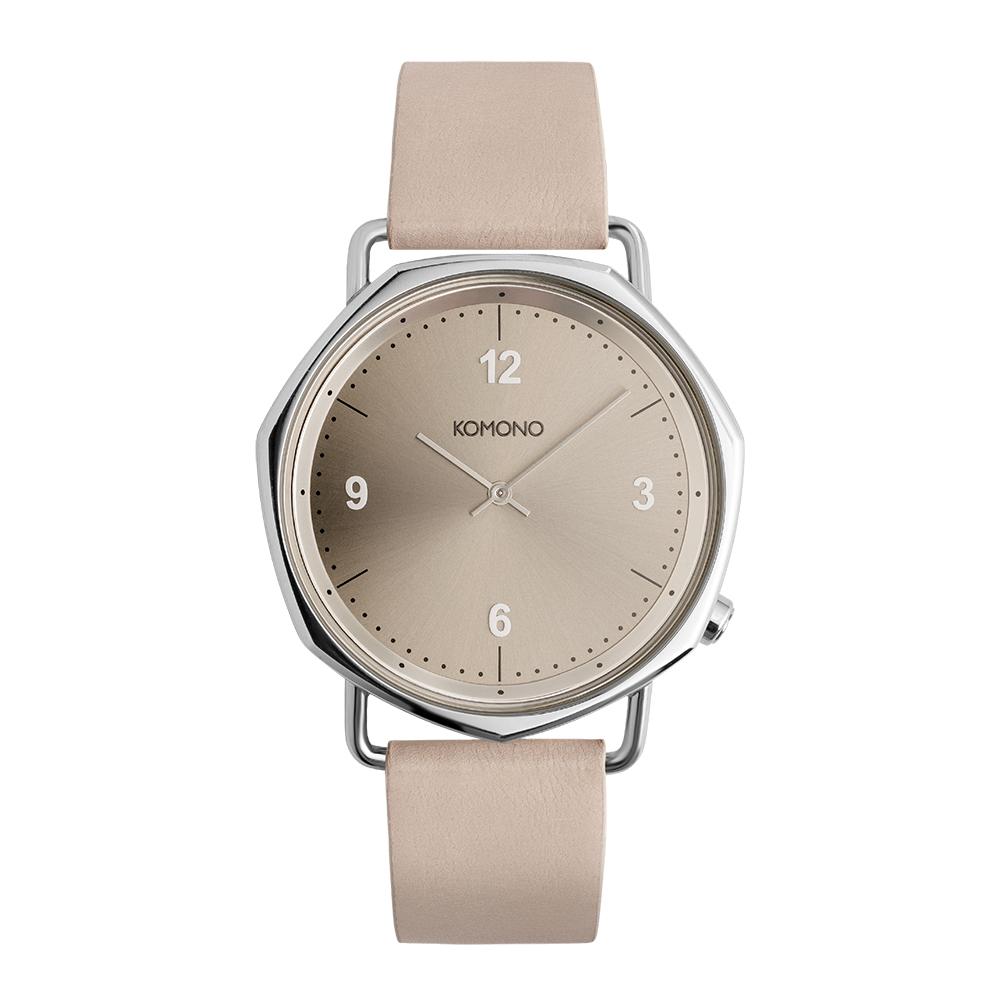 KOMONO Orson 腕錶-象牙粉/40mm