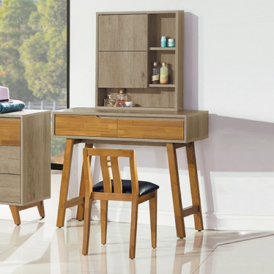 AS-馬德奧3.2尺化妝台含椅-97x40x147cm-