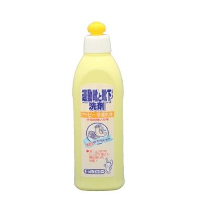 日本品牌【愛兒美Elmie】低刺激嬰童運動鞋襪洗劑