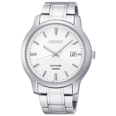 SEIKO 精工CS簡約質感時尚手錶SGEH39P1-銀/40mm