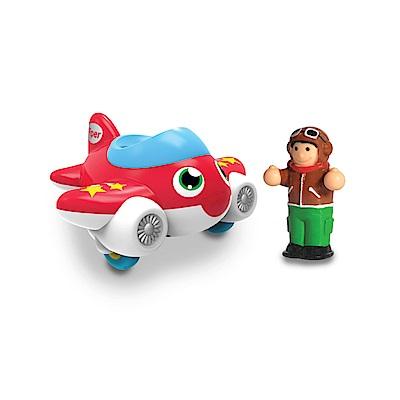 英國驚奇玩具 WOW Toys 隨身迷你車 - 噴射飛機 派柏