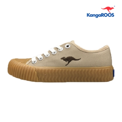 KangaROOS CRUST 女休閒帆布餅乾鞋 卡其 KW91271