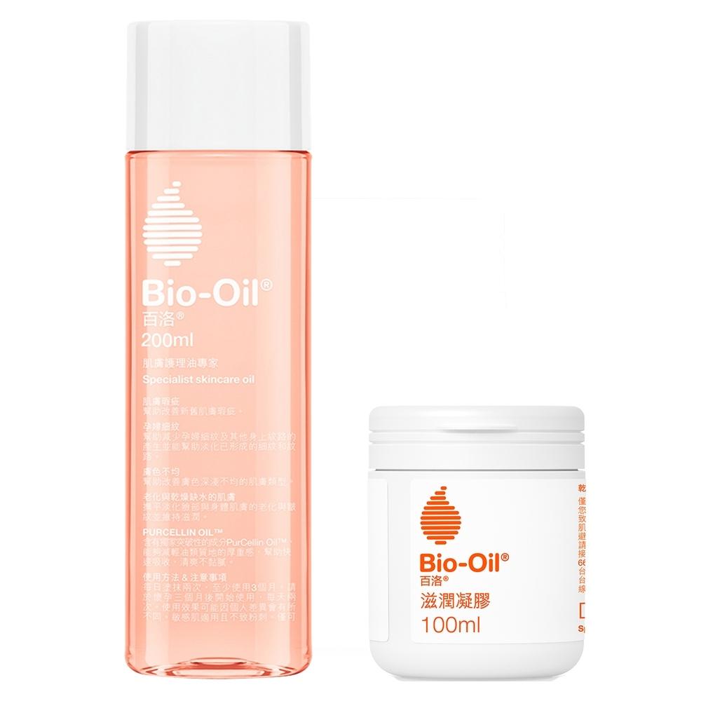 Bio-Oil百洛 護膚油200ml+滋潤凝膠100ml