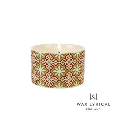 英國 Wax Lyrical 大地系列香氛蠟燭-玫瑰紅茶 Emperors Red Tea 168g