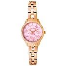 HELLO KITTY 凱蒂貓 微甜繽紛手錶 -粉紅x玫瑰金/27mm