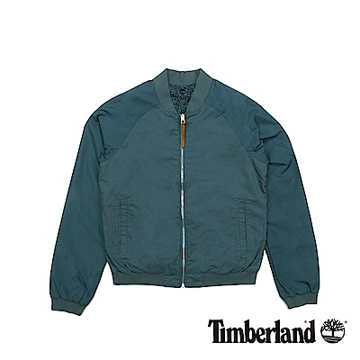 Timberland 女款星空藍Mt Mansfield 雙面飛行外套