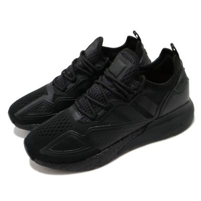 adidas 休閒鞋 ZX 2K Boost 襪套式 男女鞋 愛迪達 三葉草 緩震 球鞋穿搭 情侶鞋 黑 FV9993
