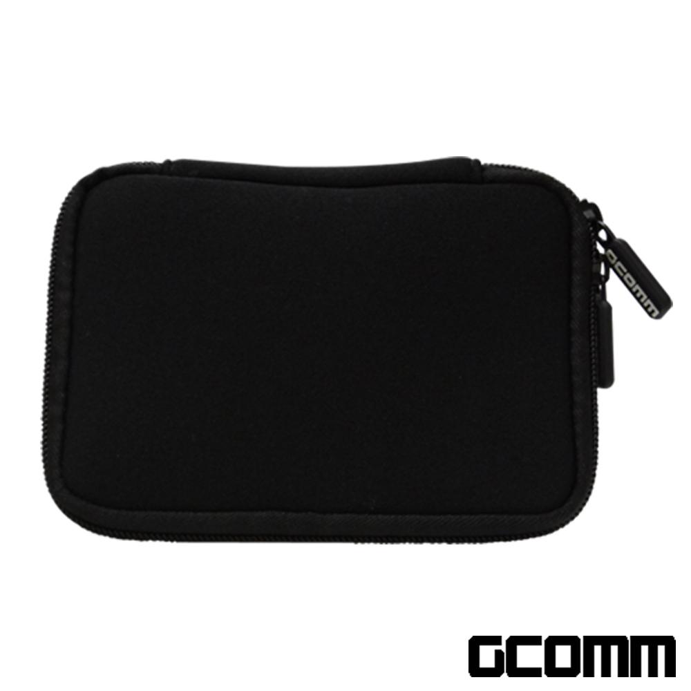 GCOMM 行動電源 隨身硬碟 超厚保護收納包 紳士黑