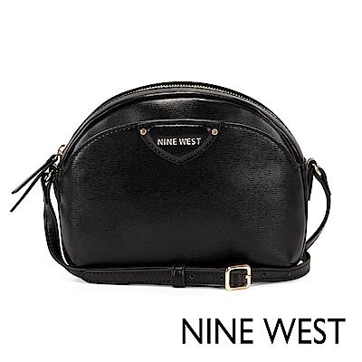 NINE WEST PAYTON迷你貝殼斜背包-黑色(109875)