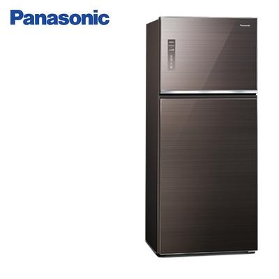Panasonic國際牌422公升一級能效雙門變頻冰箱 NR-B421TG-T曜石棕