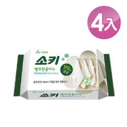 【韓國 MKH無窮花】抹布去油汙家事清潔皂 4入