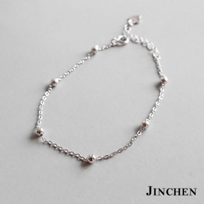 JINCHEN 純銀串珠手鍊