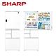 [下單再折] SHARP 夏普 502L 自動除菌離子變頻觸控左右開冰箱 星鑽白 SJ-WX50ET-W product thumbnail 2