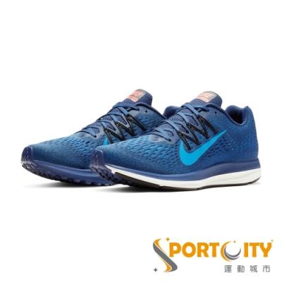 NIKE ZOOM WINFLO 5 男慢跑鞋 藍 AA7406405