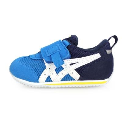 ASICS IDAHO BABY KT-ES 男女童運動鞋-慢跑 藍白黃