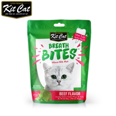 Kit Cat 薄荷潔牙餅(牛肉口味)60g