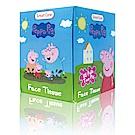 美國熱銷卡通 Peppa Pig 盒裝面紙85抽/包